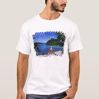 Blåttlagun, port Antonio, Jamaica Tee Shirts
