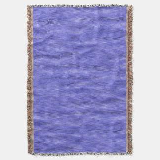 Blåttlilor och lavendel Ombre Mysfilt
