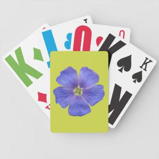 Blåttlin #1 spelkort
