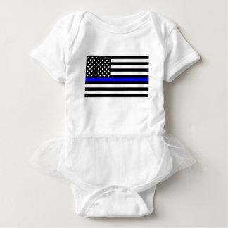 Blåttlivmateria - US-flaggapolisen gör blålinjen Tröja