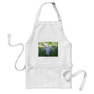 BlåttLouisiana Iris Förkläde