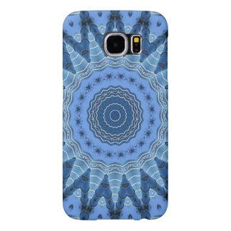 BlåttMandala Galaxy S5 Fodral