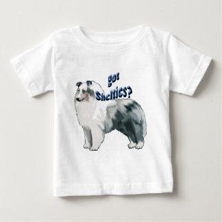 BlåttMerle shetland Sheepdog Tshirts