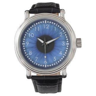 blåttögat är gulligt armbandsur