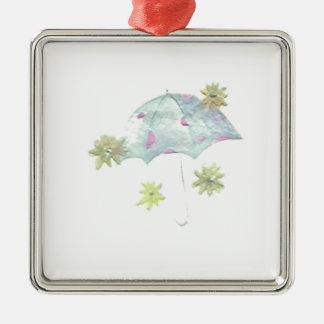 Blåttparaply Julgransprydnad Metall
