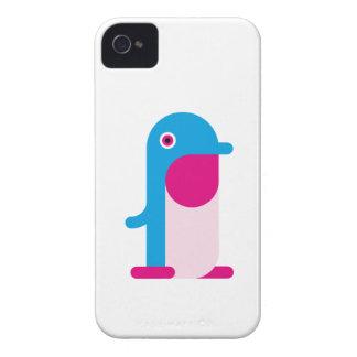 Blåttpingvin iPhone 4 Case-Mate Skal