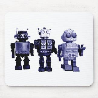 blåttrobotmousepad musmatta