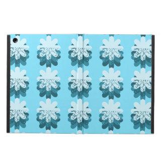 BlåttSnowflakemönster iPad Air Skal