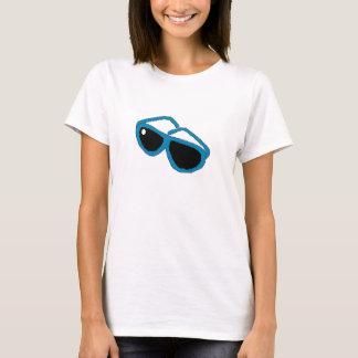 Blåttsolexponeringsglas T-shirt