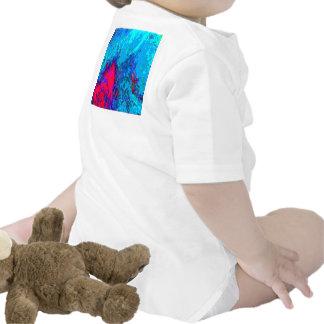 BLÅTTspectrumen vinkar abstrakt MALLroligt för Bodies För Bebisar