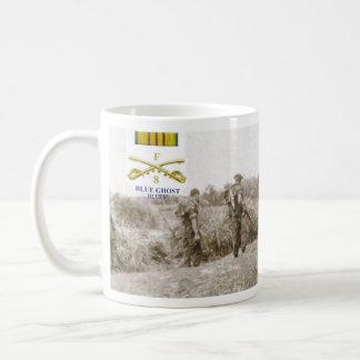 Blåttspökeplutoner - deppighet kaffemugg