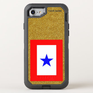 BLÅTTSTJÄRNAMAMMOR OtterBox DEFENDER iPhone 7 SKAL