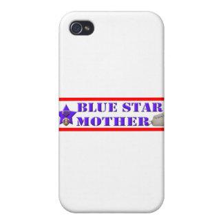 Blåttstjärnamor iPhone 4 Fodral