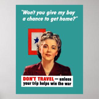 Blåttstjärnamor Poster
