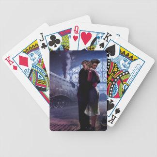 Blåtttåg Spelkort