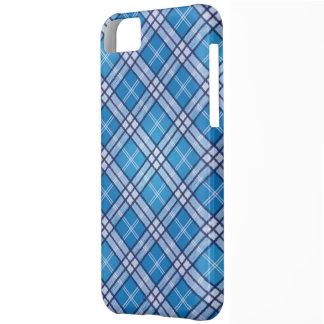 BlåttTartan iPhone 5C Fodral
