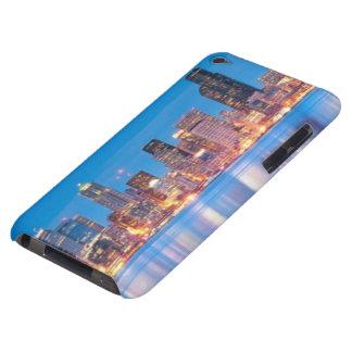 Blåtttimmen beskådar av i stadens centrum Seattle Barely There iPod Fodral