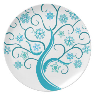 Blåttträd Tallrik