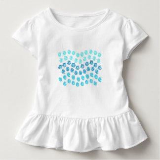Blåttvågarsmåbarn rufsar T-tröja T Shirt