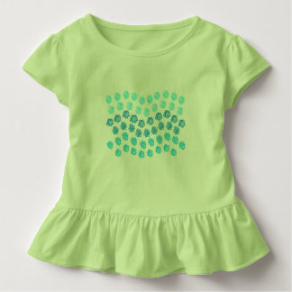 Blåttvågarsmåbarn rufsar T-tröja T Shirts