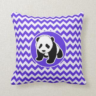 BlåttVioletsparre; Panda Kudde