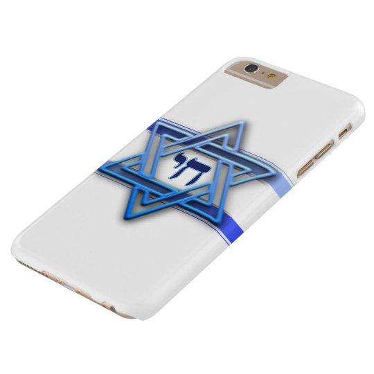 Blåttvit och davidsstjärnan barely there iPhone 6 plus skal  563fa735c1c44