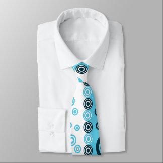 blåttvit pricker tien slips