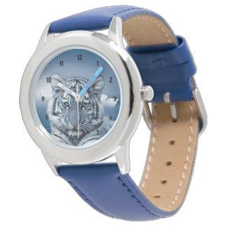 Blåttvittiger Armbandsur