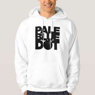 Blek - blått sweatshirt med luva