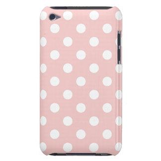 Blek - den rosa polkaen pricker ipod fodral iPod Case-Mate fodraler