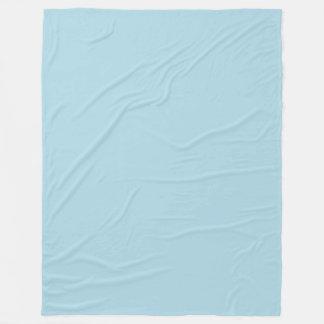 Blek - fast färg för blått (ljust pastellfärgat fleecefilt