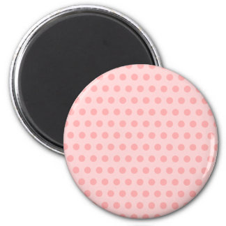 Blek - rosa polka dots magnet