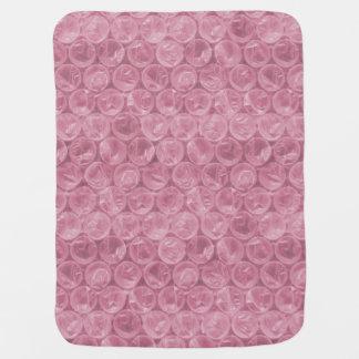 Blek - rosor bubblar sjalen bebisfilt