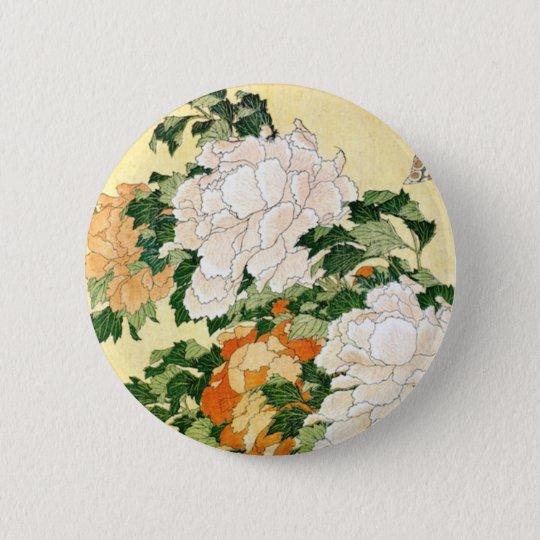 Bleka blommor standard knapp rund 5.7 cm