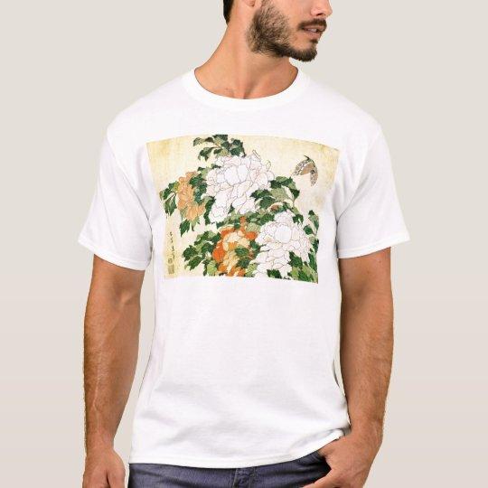 Bleka blommor tee shirt