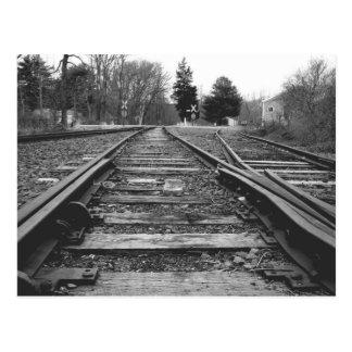Bleka himmlar och järnvägties vykort