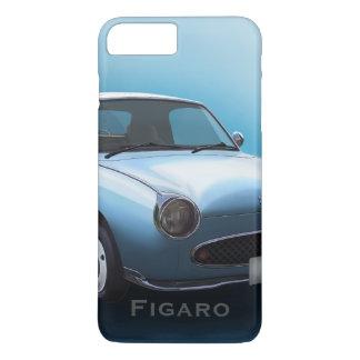 Blekt fodral för iPhone 7 för AquaNissan Figaro