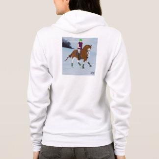 Bli skallig den ansikteWarmblood hästen Tee Shirt