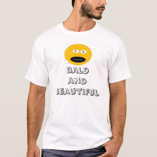 Bli skallig & den Beautifil skjortan T Shirt