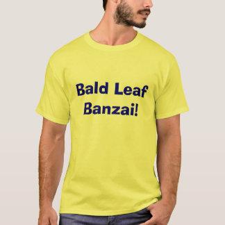 Bli skallig lövbanzaien! t-shirts