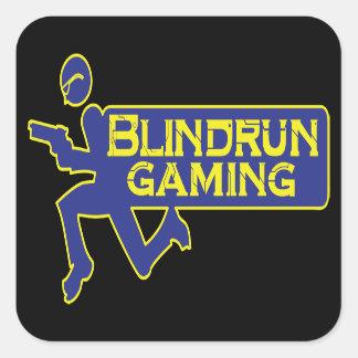 Blindrun dobbelklistermärke