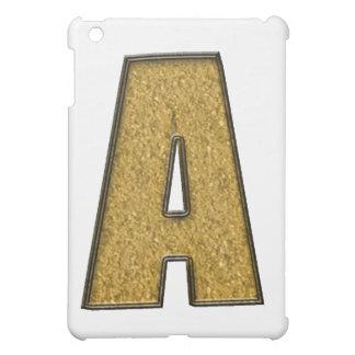 Bling guld A iPad Mini Mobil Fodral