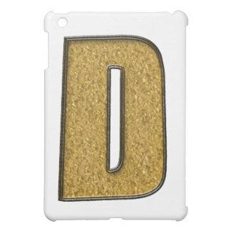 Bling guld D iPad Mini Mobil Skydd