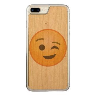 Blinka Emoji Carved iPhone 7 Plus Skal