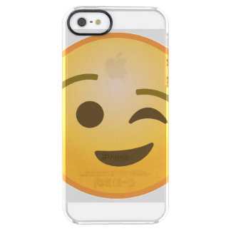 Blinka Emoji Clear iPhone SE/5/5s Skal