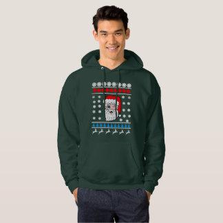 Blinka Santa Head ful jul Sweatshirt Med Luva