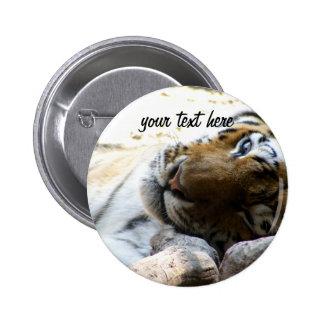 Blinka tigern standard knapp rund 5.7 cm