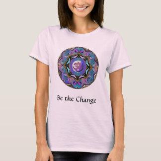 Blir mandalaen för ändrings~-månen t-shirt