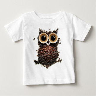Bliven uggla med extra starkt kaffe t-shirt