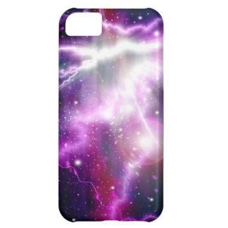 Blixtgalax i rymden iPhone 5C fodral